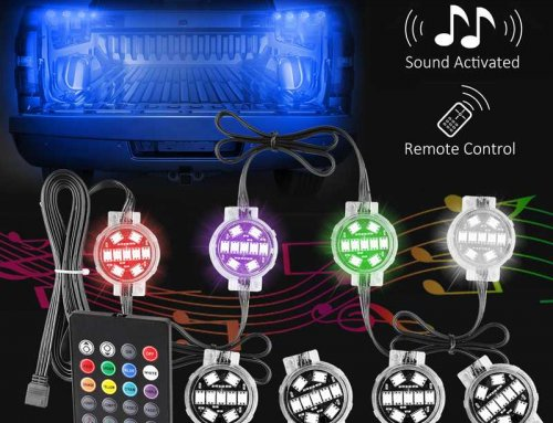 8PCS RGB Truck Bed Lights